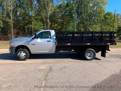 2011 RAM 3500HD JUST 34k MILES 12 FOOT STAKE BODY ONE OWNER SC TRUCK!! HEMI POWERED - Click to see full-size photo viewer