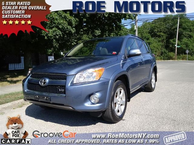 2011 Used Toyota RAV4 4WD 4dr V6 5-Speed Automatic Ltd at