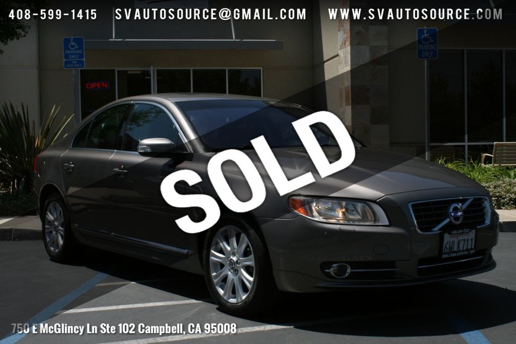 2011 Used Volvo S80 4dr Sedan 3 2L FWD w/Moonroof at Silicon Valley Auto  Source Serving Campbell, CA, IID 18809197