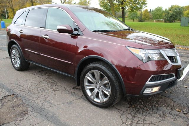 2012 Acura MDX  ADVANCE PKG NAVIGATION ONE OWNER