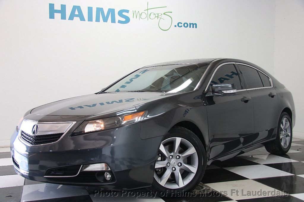 Used Acura TL Dr Sedan Automatic WD Tech At Haims Motors - Acura dealer fort lauderdale