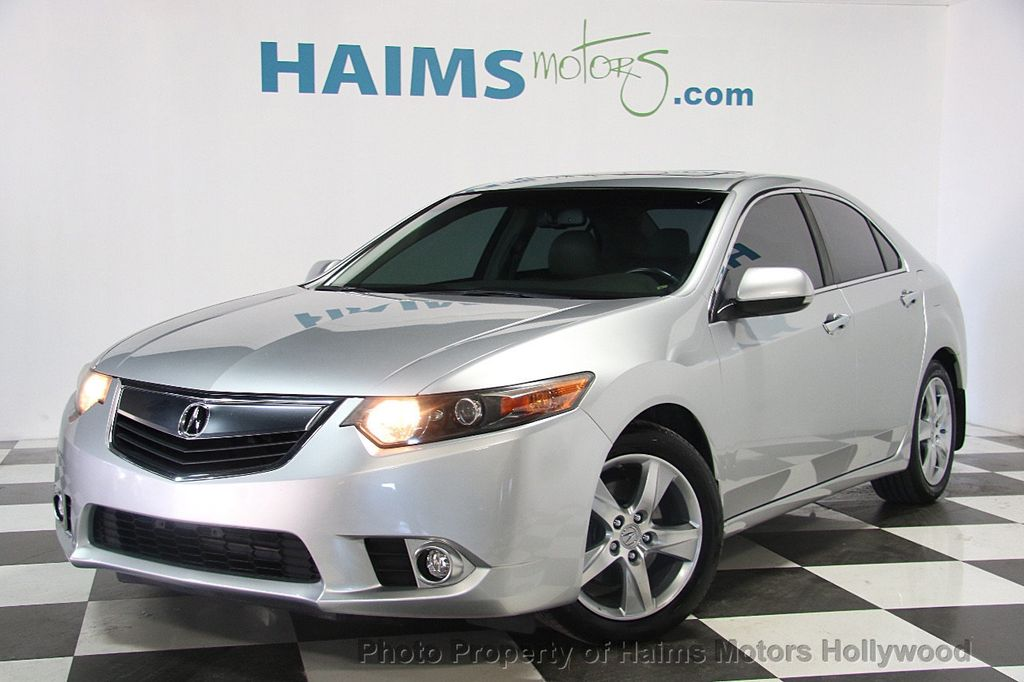 Used Acura TSX Dr Sedan I Automatic Tech Pkg At Haims - Acura dealer fort lauderdale