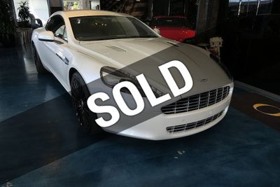 2012 Aston Martin Rapide 4dr Sedan Automatic Luxury