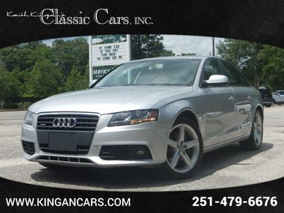 2012 Audi A4 4dr Sedan Automatic quattro 2.0T Premium Plus