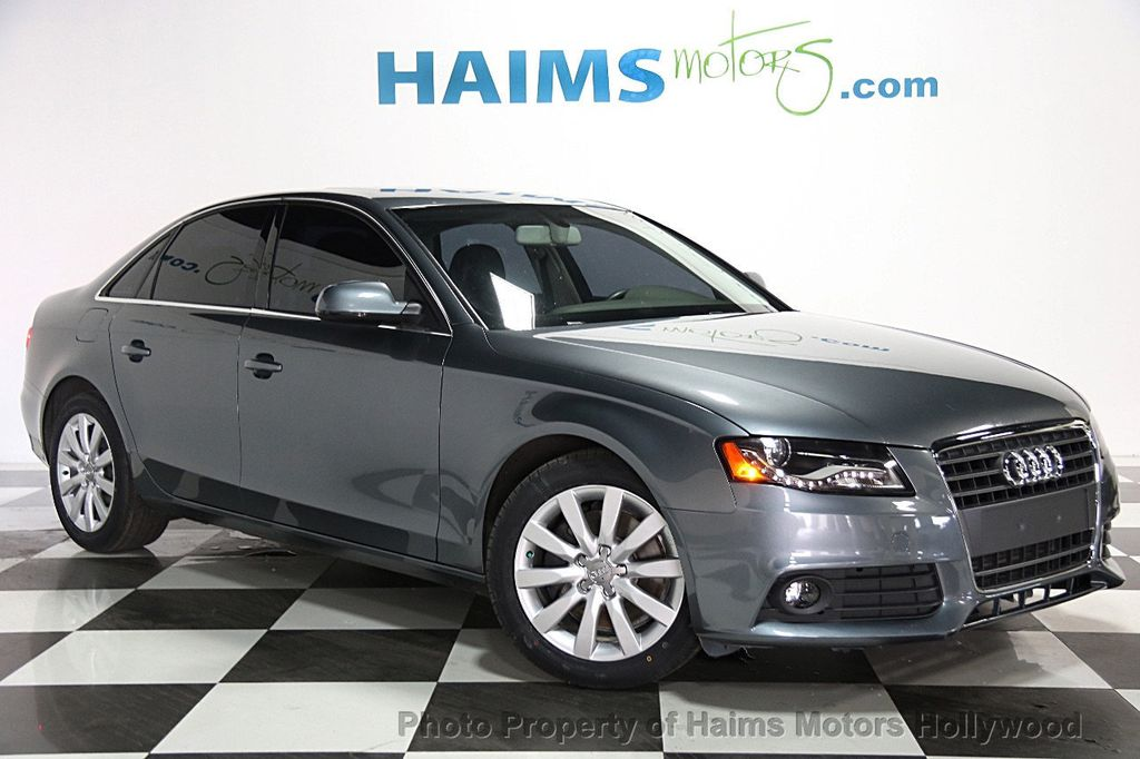 2012 Used Audi A4 4dr Sedan Cvt Fronttrak 2 0t Premium At