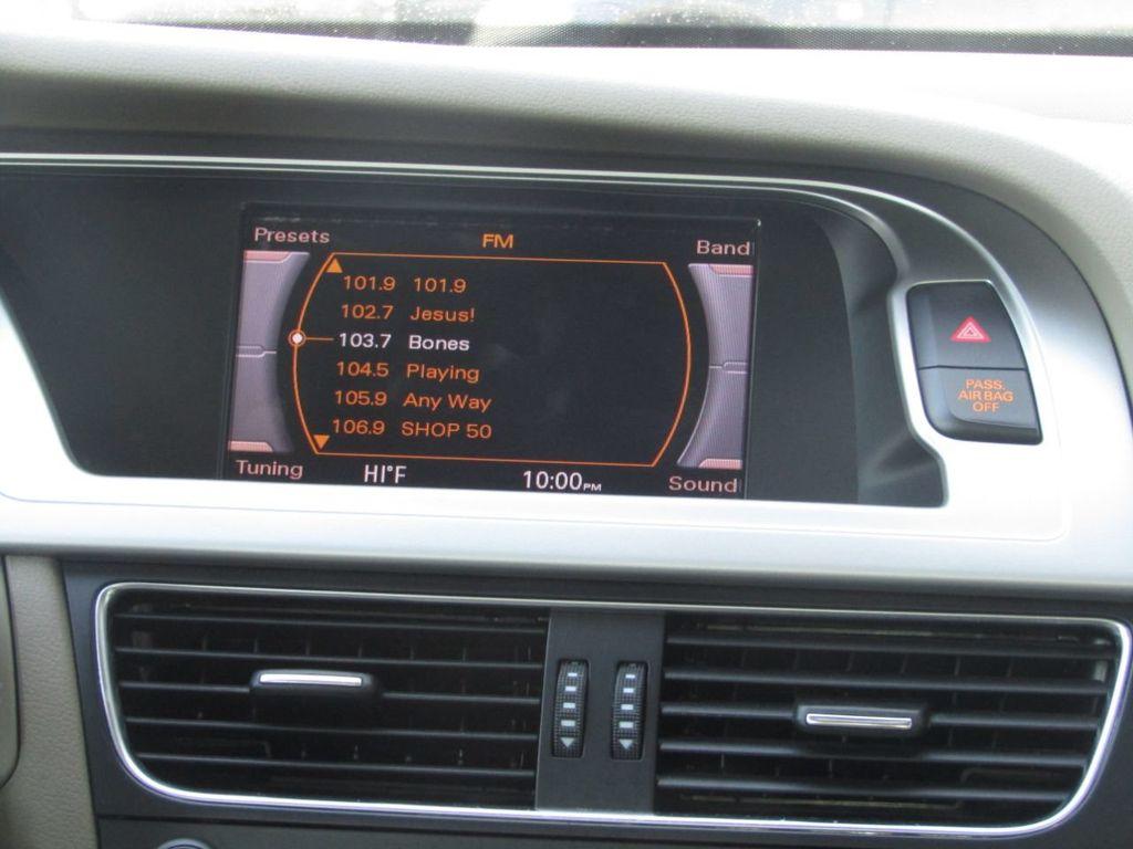2012 Audi A4 4dr Sedan CVT FrontTrak 2.0T Premium - 15308149 - 17