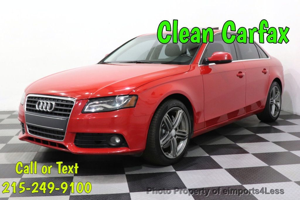 2012 Audi A4 CERTIFIED A4 2.0T Premium Leather Moonroof  - 18602959 - 0