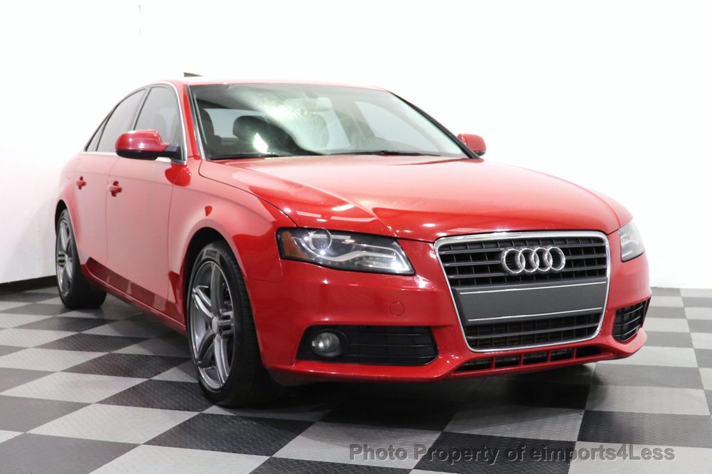 2012 Audi A4 CERTIFIED A4 2.0T Premium Leather Moonroof  - 18602959 - 11