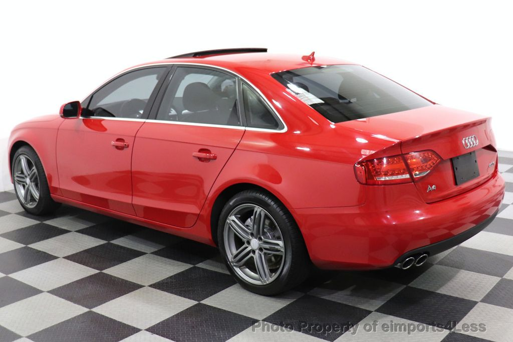 2012 Audi A4 CERTIFIED A4 2.0T Premium Leather Moonroof  - 18602959 - 24