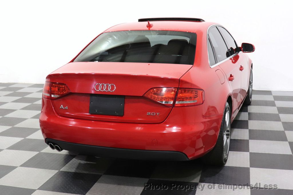 2012 Audi A4 CERTIFIED A4 2.0T Premium Leather Moonroof  - 18602959 - 26