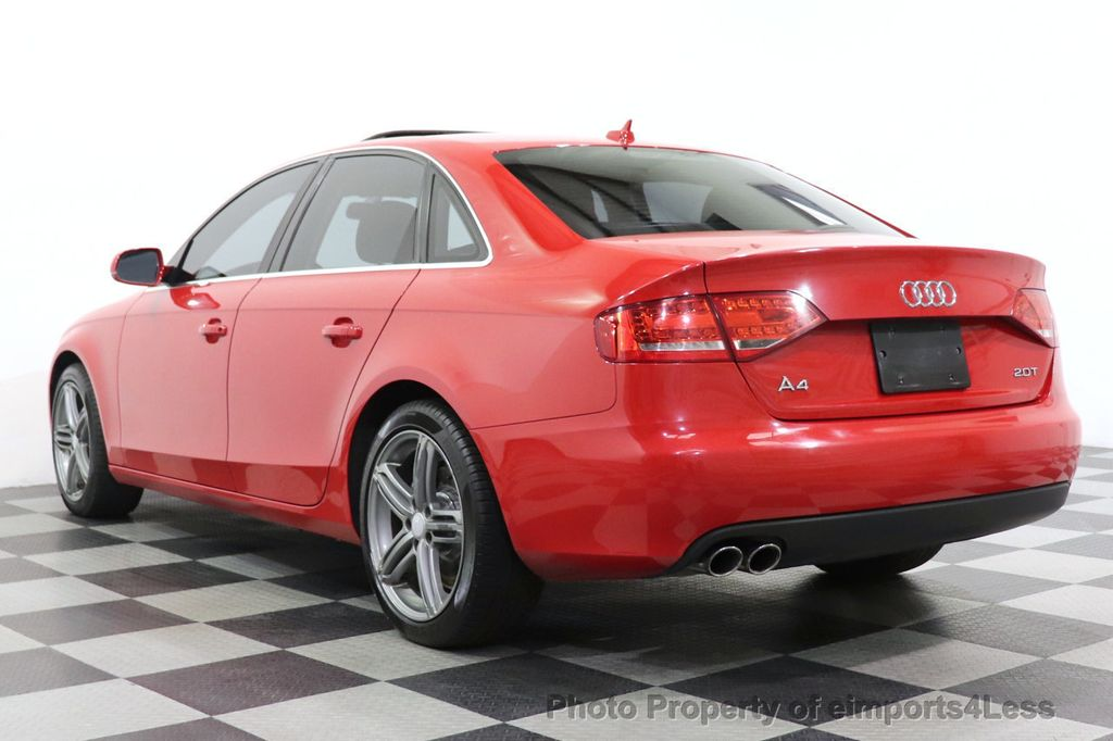 2012 Audi A4 CERTIFIED A4 2.0T Premium Leather Moonroof  - 18602959 - 2