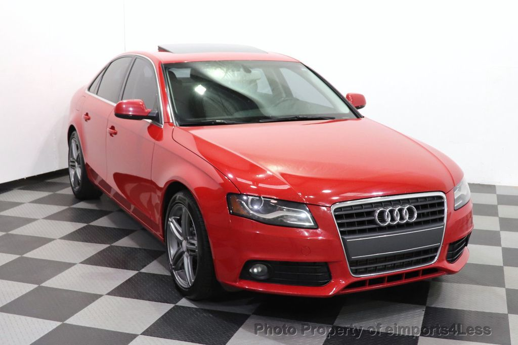 2012 Audi A4 CERTIFIED A4 2.0T Premium Leather Moonroof  - 18602959 - 36