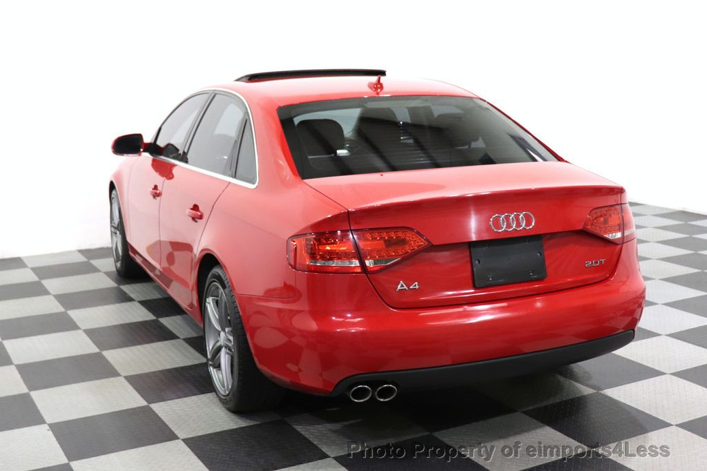2012 Audi A4 CERTIFIED A4 2.0T Premium Leather Moonroof  - 18602959 - 37