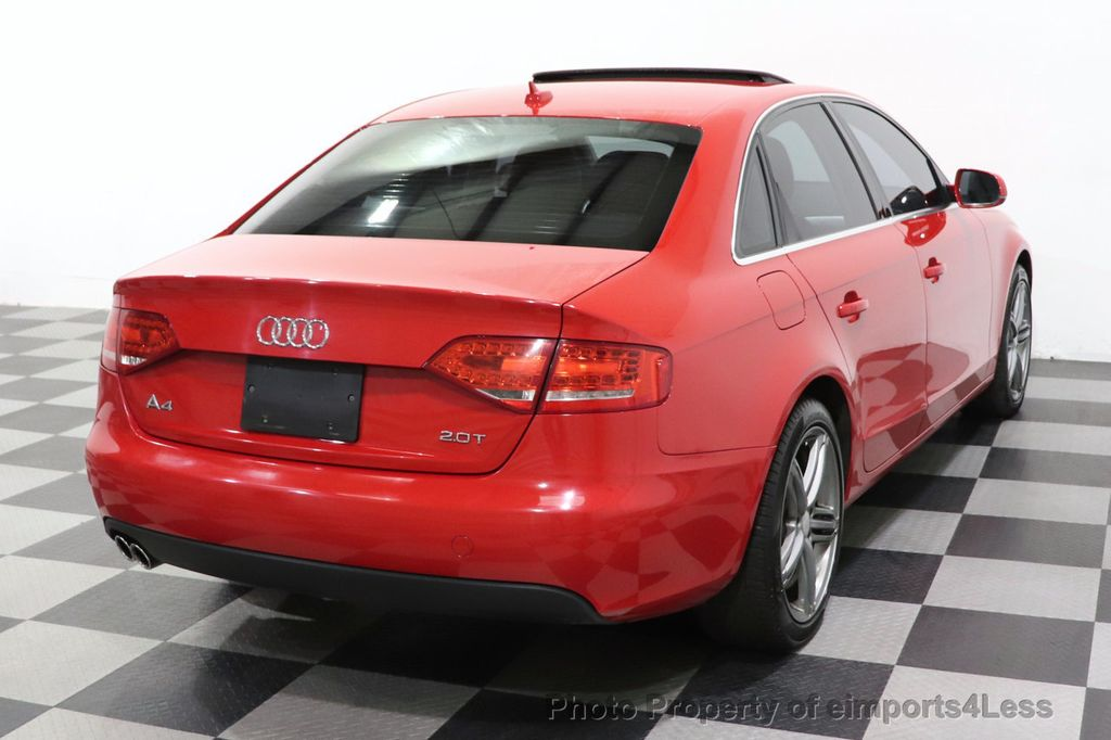2012 Audi A4 CERTIFIED A4 2.0T Premium Leather Moonroof  - 18602959 - 3