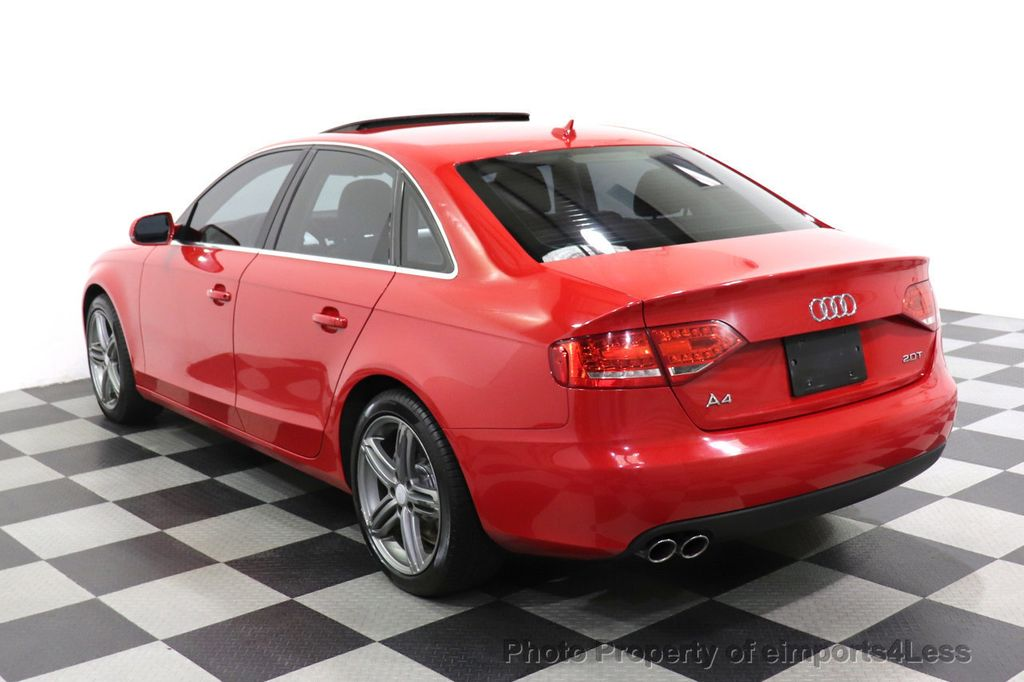 2012 Audi A4 CERTIFIED A4 2.0T Premium Leather Moonroof  - 18602959 - 46