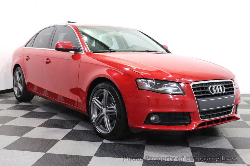 2012 Audi A4 CERTIFIED A4 2.0T Premium Leather Moonroof  - 18602959 - 48