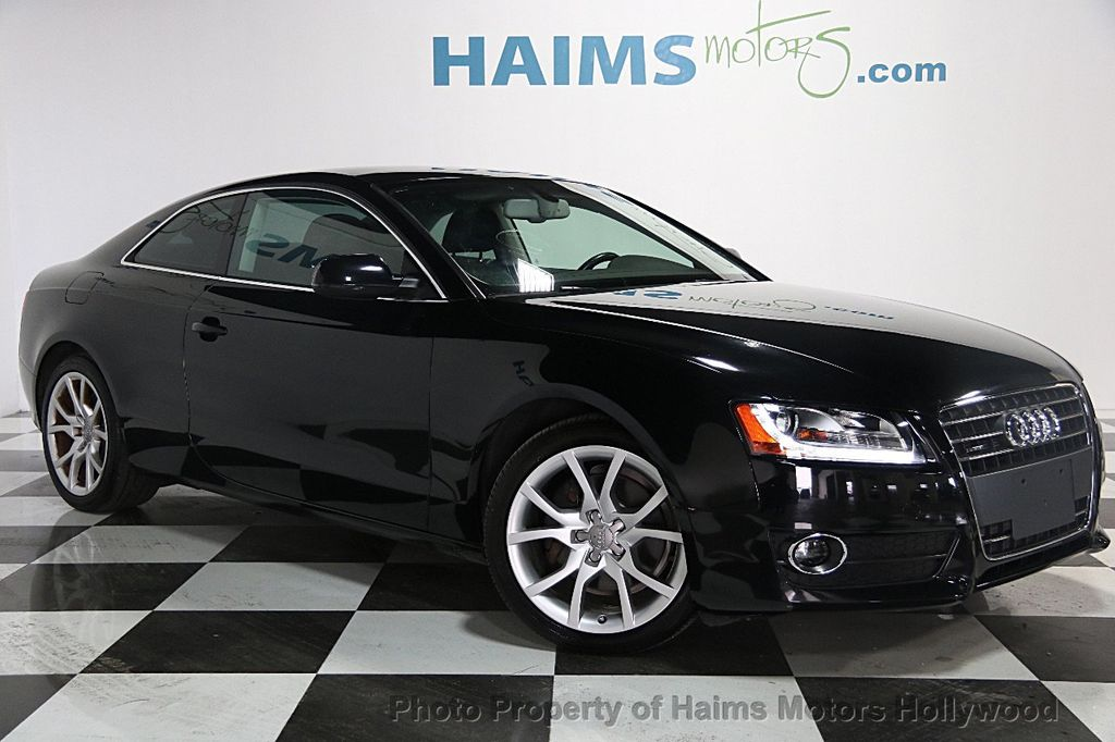 2012 used audi a5 2dr coupe manual quattro 2 0t premium plus at haims motors serving fort. Black Bedroom Furniture Sets. Home Design Ideas