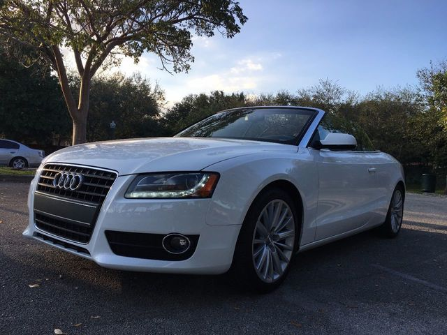 2012 Used Audi A5 Cabriolet At A Luxury Autos Serving Miramar Fl