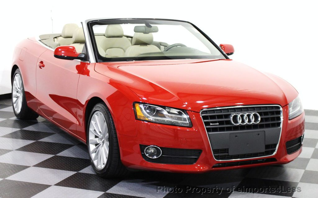 2012 used audi a5 cabriolet certified quattro prestige awd convertible navi at. Black Bedroom Furniture Sets. Home Design Ideas