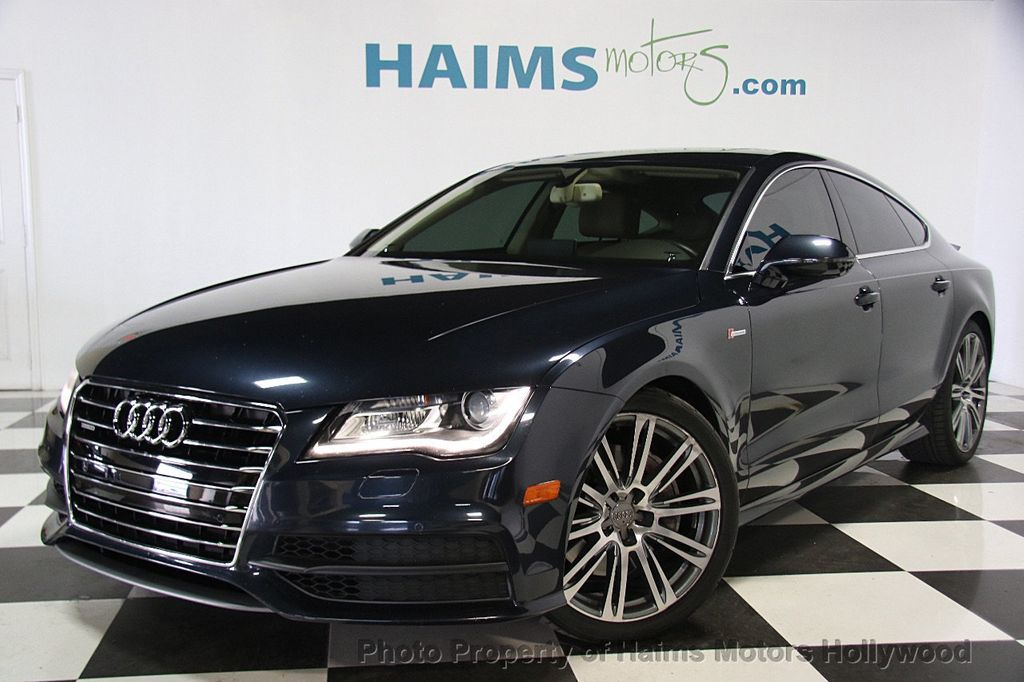 2012 used audi a7 4dr hatchback quattro 3 0 prestige at haims motors serving fort lauderdale. Black Bedroom Furniture Sets. Home Design Ideas