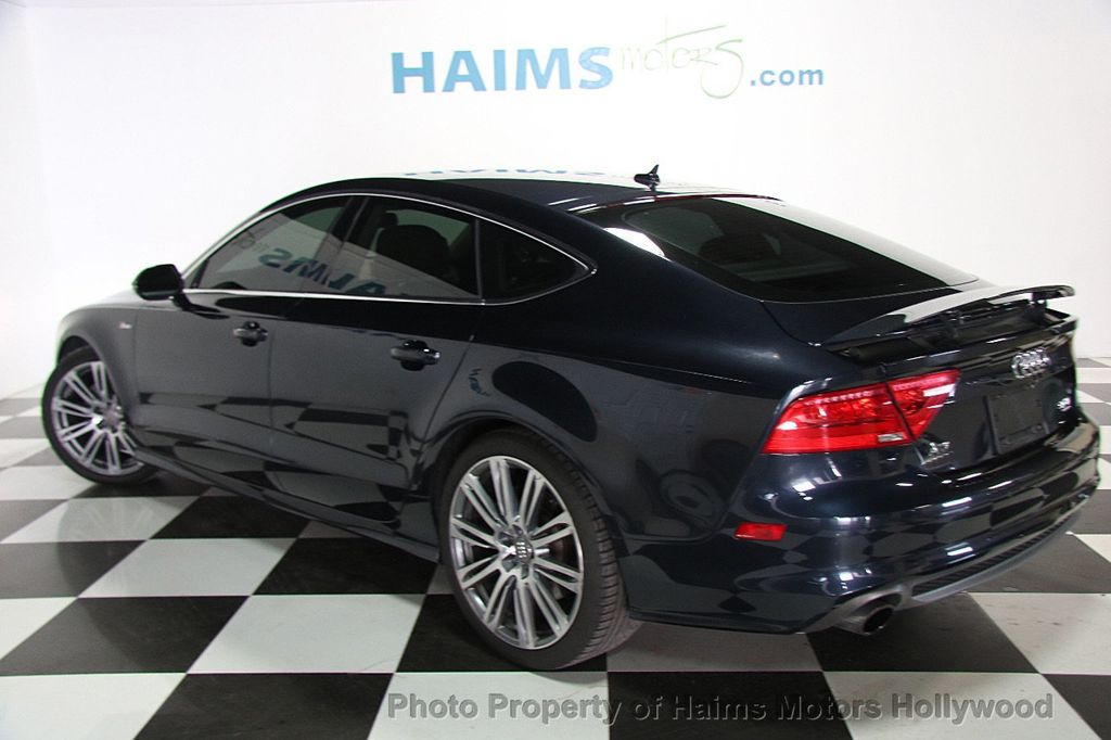 2012 used audi a7 4dr hatchback quattro 3 0 prestige at haims motors hollywood serving fort. Black Bedroom Furniture Sets. Home Design Ideas