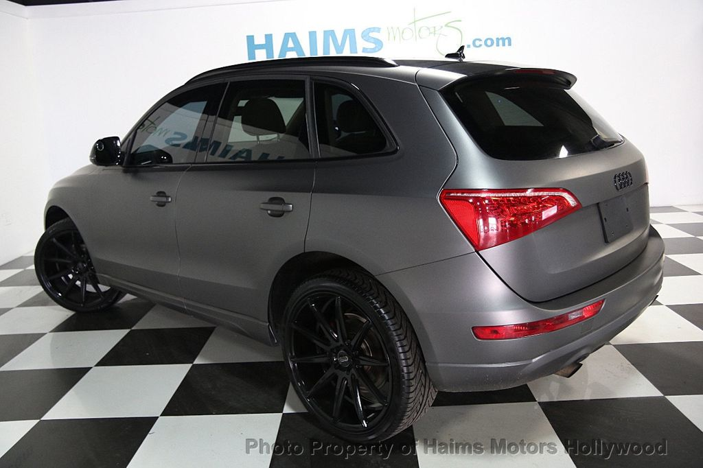 2012 Audi Q5 CUSTOM MATTE GRAY WRAP - 16506106 - 3