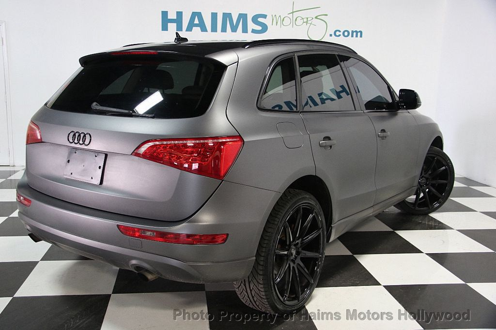 2012 Audi Q5 CUSTOM MATTE GRAY WRAP - 16506106 - 5