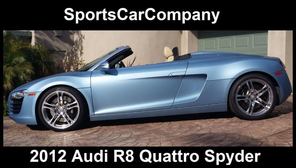 2012 Audi R8 Spyder 2dr Conv Auto quattro Spyder 4.2L - 16148960 - 0