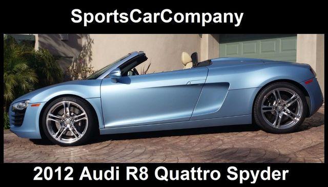 2012 Audi R8 Spyder 2dr Conv Auto quattro Spyder 4.2L