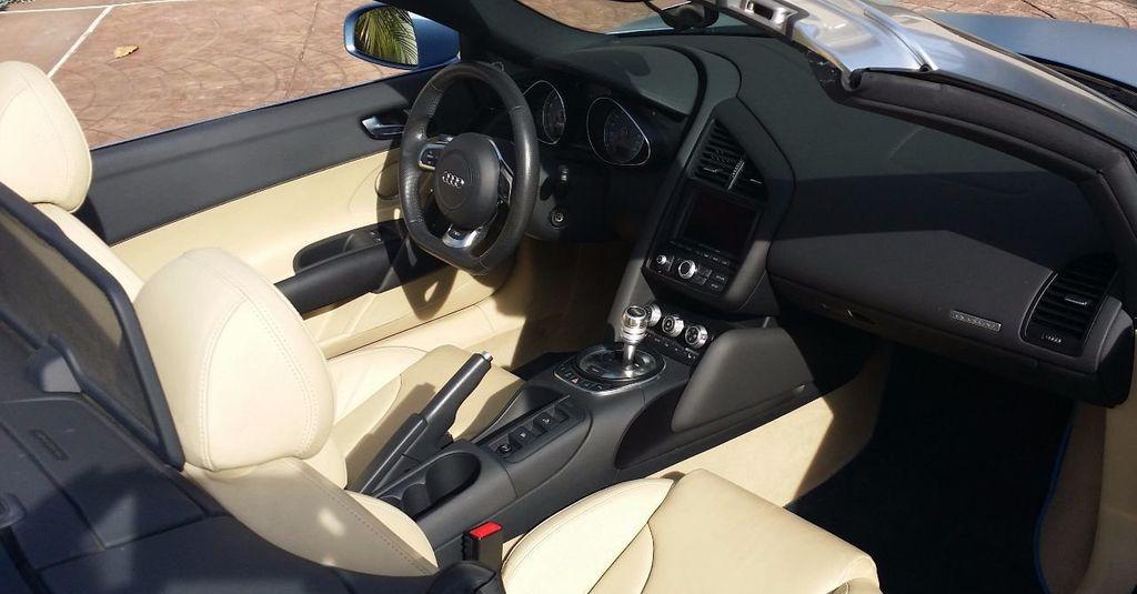 2012 Audi R8 Spyder 2dr Conv Auto quattro Spyder 4.2L - 16148960 - 14