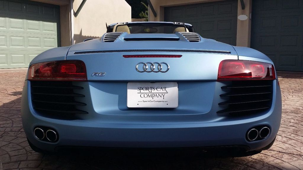 2012 Used Audi R8 Spyder 2dr Conv Auto Quattro Spyder 4 2l At Sports