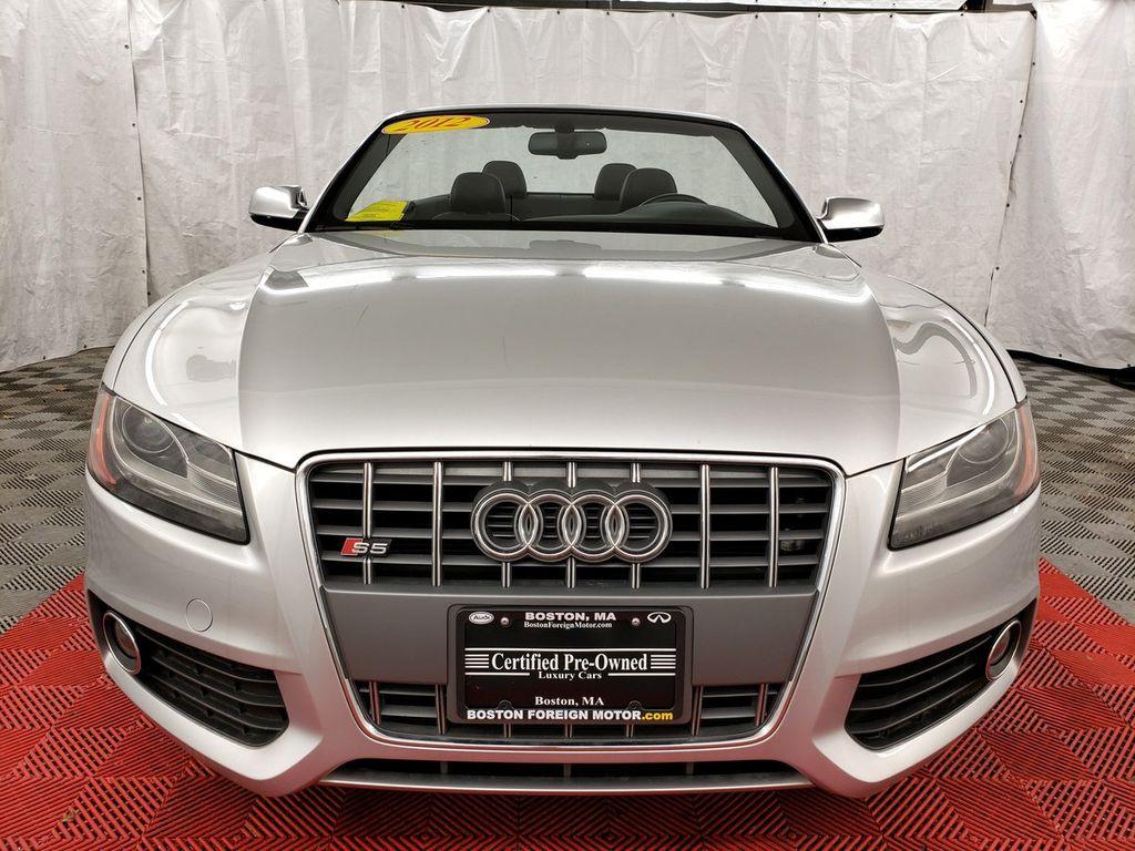 2012 Audi S5 Cabriolet 2dr Cabriolet Prestige - 17920581 - 1