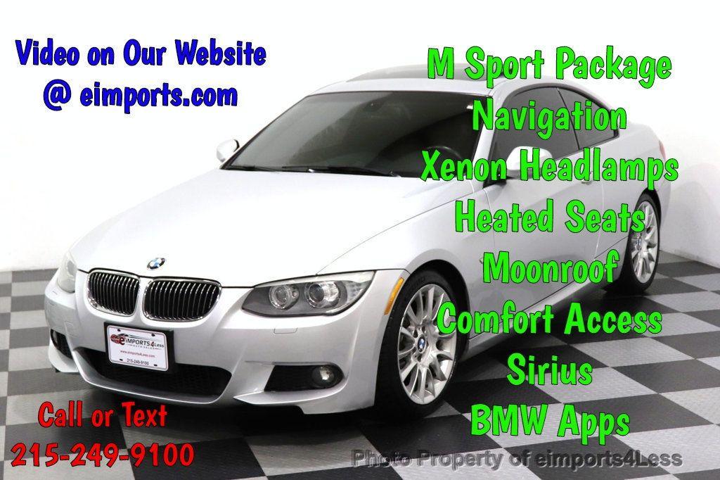 2012 BMW 3 Series CERTIFIED 328i M SPORT NAV COMFORT ACCESS DYNAMIC XENON - 18545380 - 0
