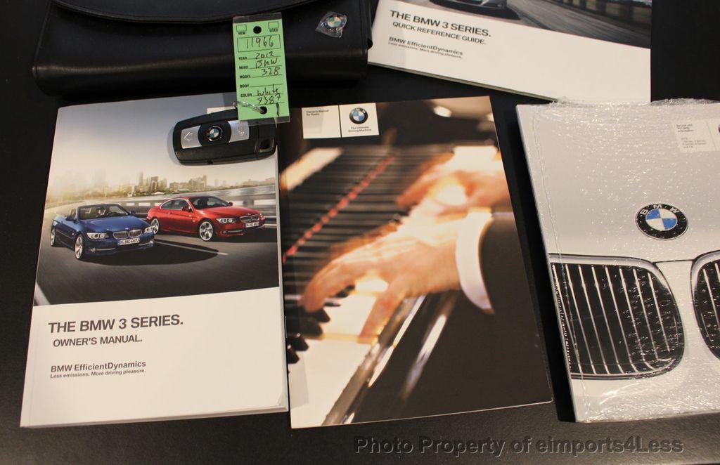 2012 BMW 3 Series CERTIFIED 328i xDRIVE AWD NAVIGATION - 17334095 - 38