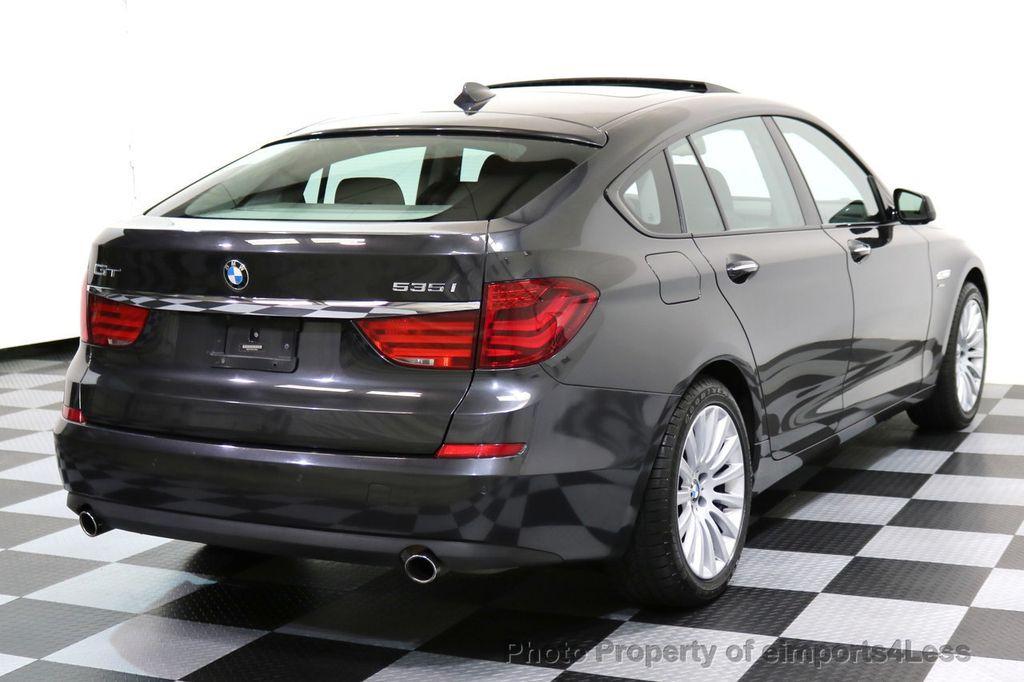 2012 BMW 5 Series Gran Turismo CERTIFIED 535i xDRIVE GT Sport Camera NAV Gran Turismo - 16996226 - 3