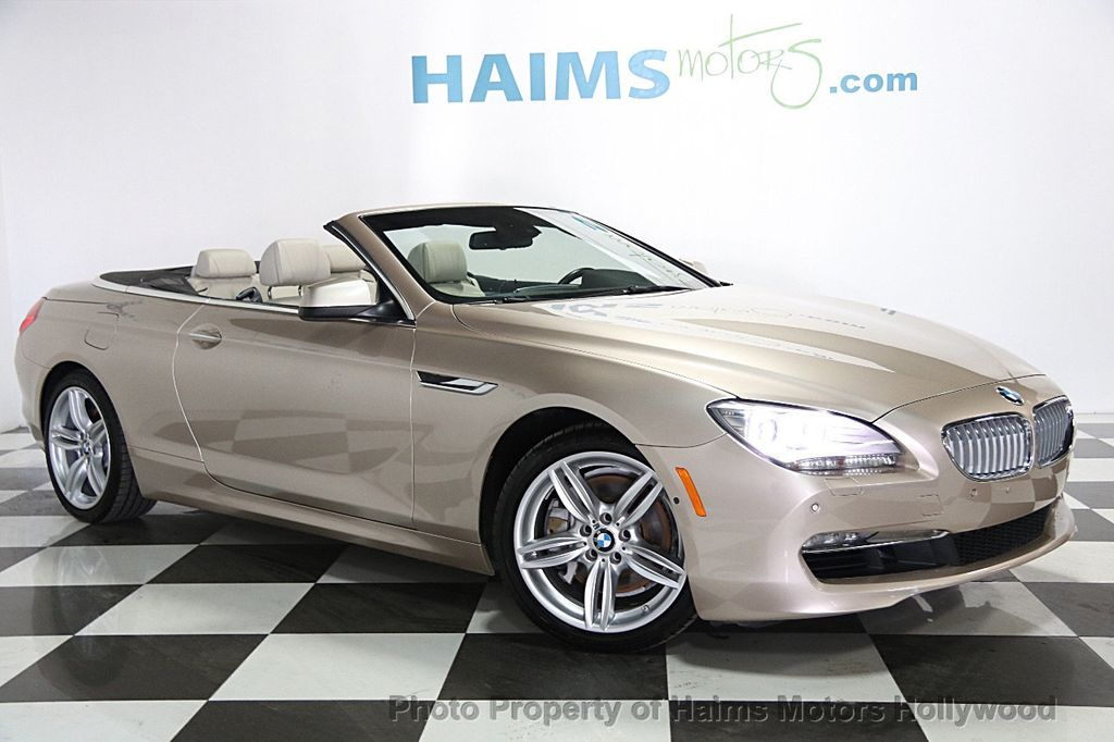 2012 Used Bmw 6 Series 650i At Haims Motors Serving Fort Lauderdale Hollywood Miami Fl Iid
