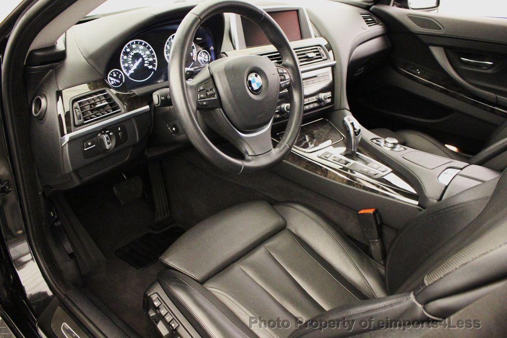 2012 BMW 6 Series CERTIFIED 650Xi XDRIVE AWD COUPE NAVIGATION