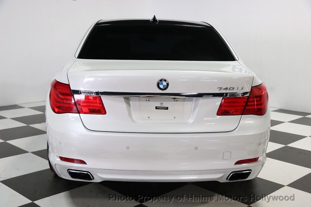 2012 used bmw 7 series 740li at haims motors hollywood. Black Bedroom Furniture Sets. Home Design Ideas