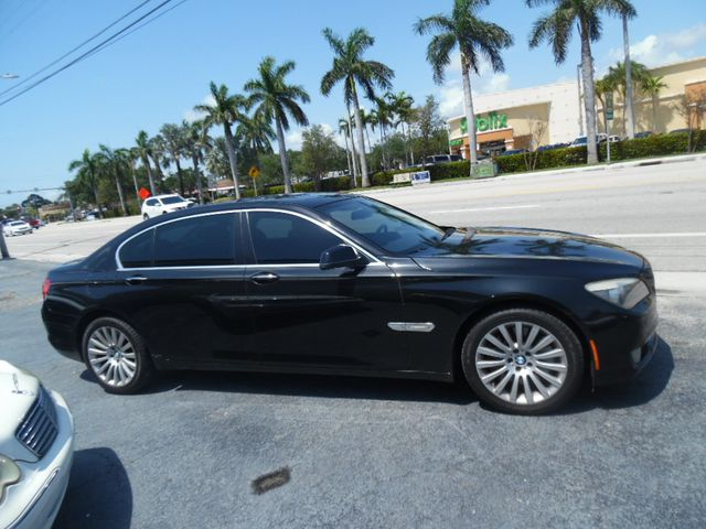 2012 Used BMW 7 Series 750Li at L G E  Auto Sales Serving Wilton Manors,  FL, IID 18804642