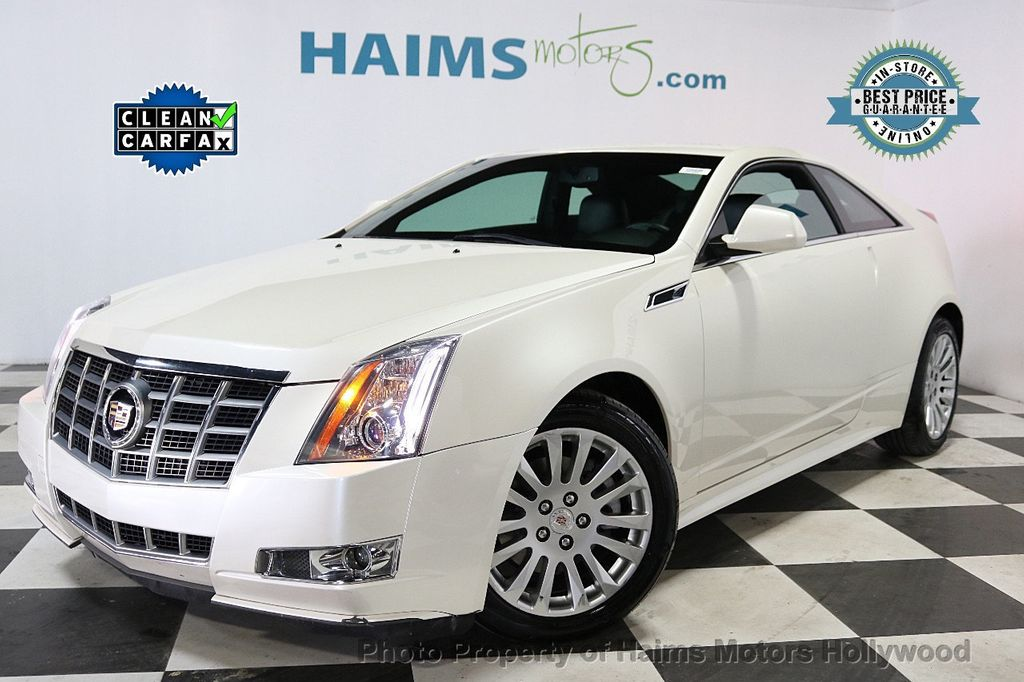 2012 Cadillac CTS Coupe 2dr Coupe Performance RWD - 18496935 - 0