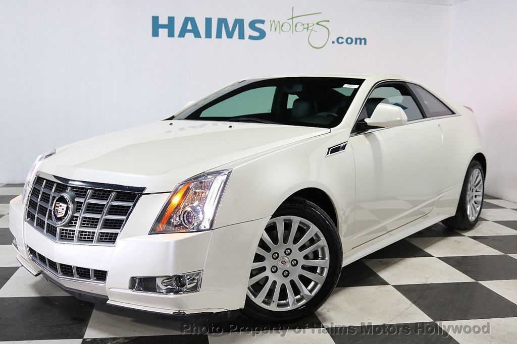 2012 Cadillac CTS Coupe 2dr Coupe Performance RWD - 18496935 - 1