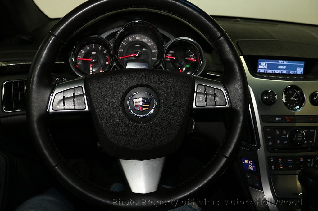 2012 Cadillac CTS Coupe 2dr Coupe Performance RWD - 18496935 - 24