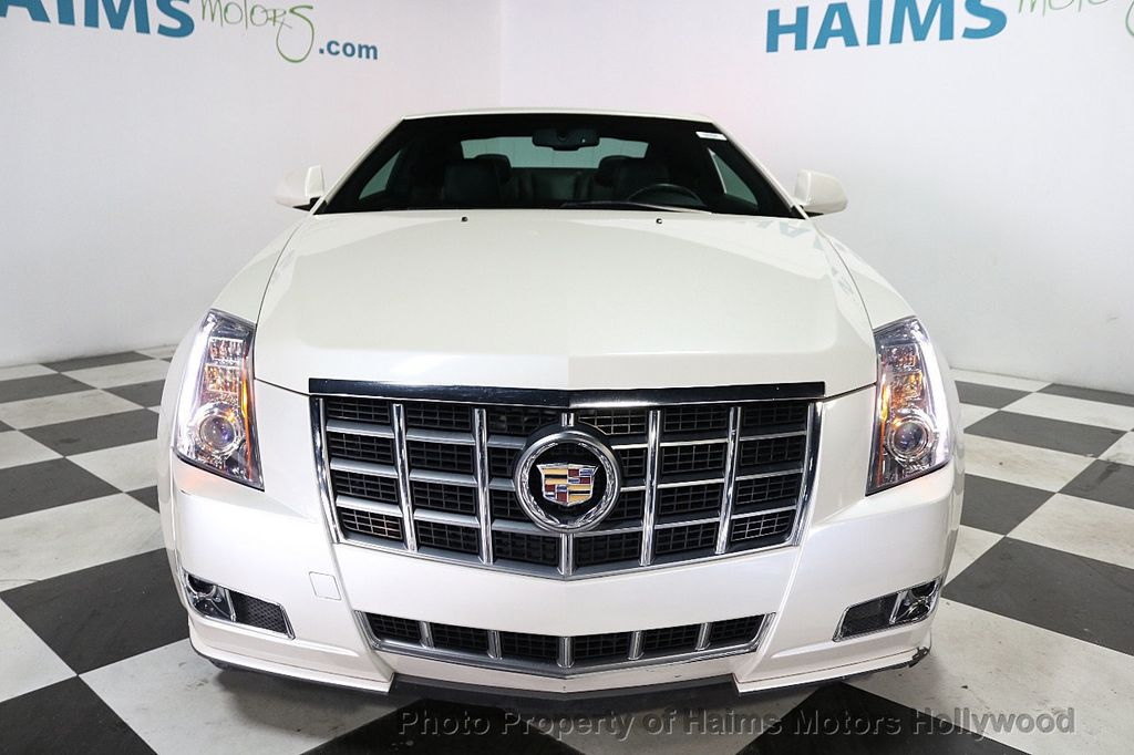2012 Cadillac CTS Coupe 2dr Coupe Performance RWD - 18496935 - 2