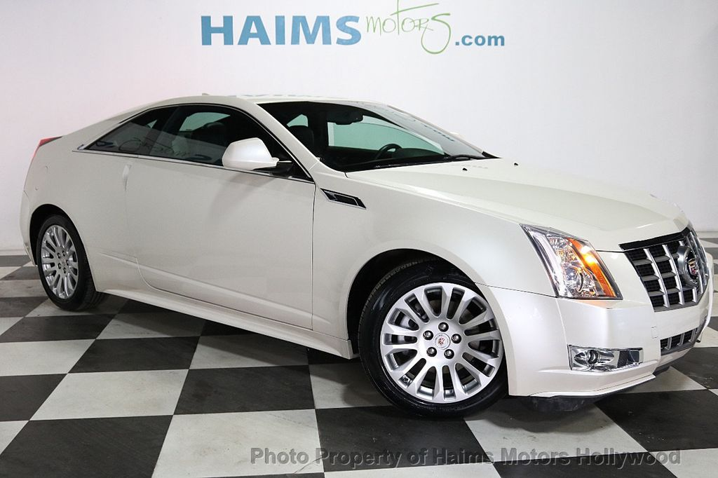 2012 Cadillac CTS Coupe 2dr Coupe Performance RWD - 18496935 - 3