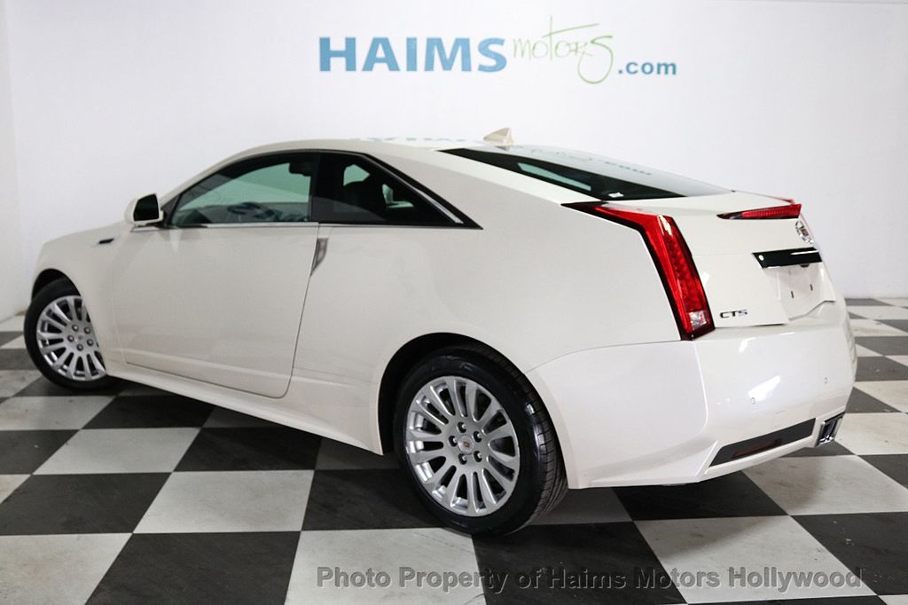 2012 Cadillac CTS Coupe 2dr Coupe Performance RWD - 18496935 - 4