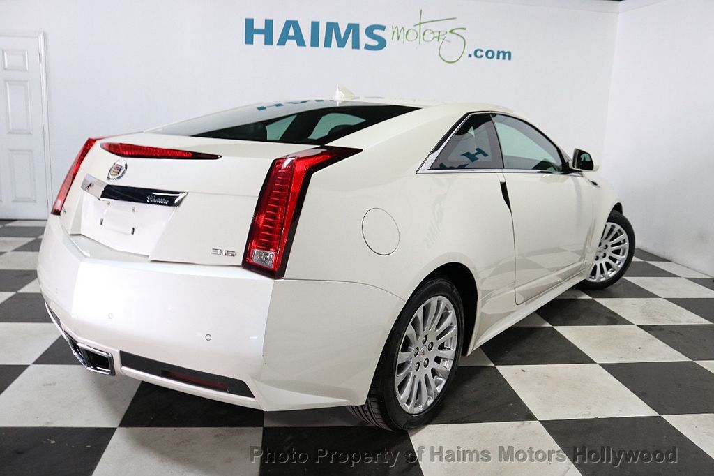 2012 Cadillac CTS Coupe 2dr Coupe Performance RWD - 18496935 - 6