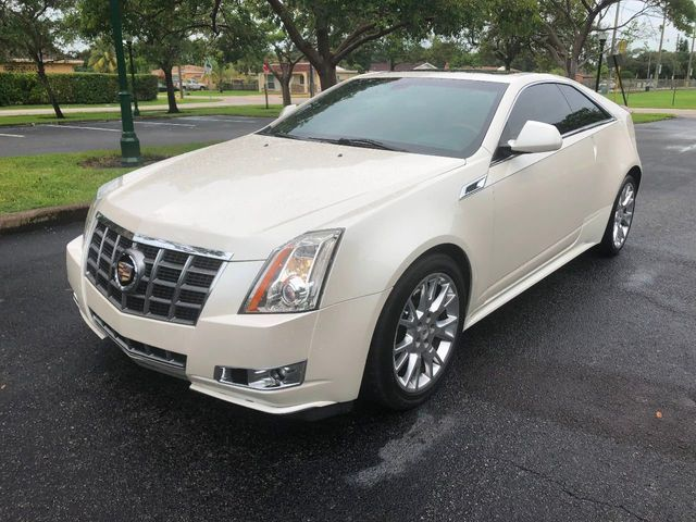 2012 Used Cadillac Cts Coupe 2dr Coupe Premium Rwd At A