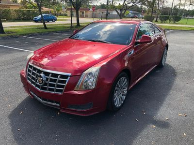 2012 Cadillac CTS Coupe 2dr Coupe RWD