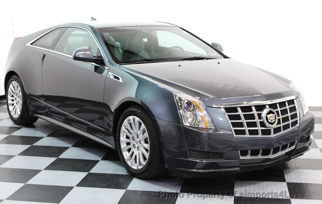 2012 Used Cadillac Cts Coupe Certified Cts 3 6 Awd Coupe