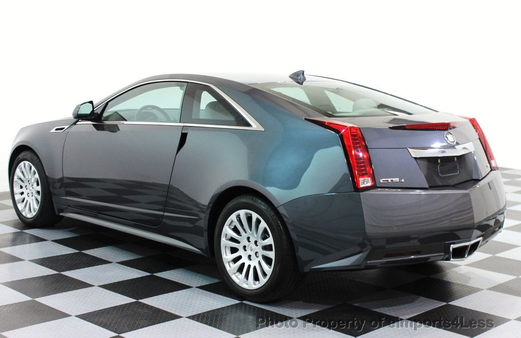 2012 Used Cadillac Cts Coupe Certified Cts 3 6 Awd Coupe At